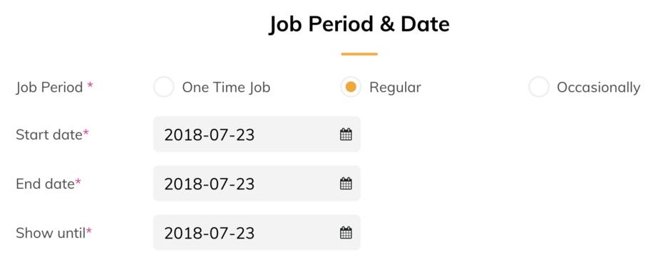 Job D Regular